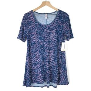 LuLaRoe Perfect T XXS Tunic Top Swing Original Dot